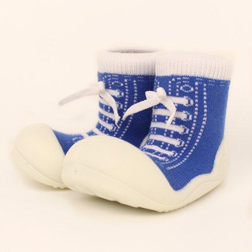 ベビーシューズ Baby feet ベビーフィート ラバー底ソックス SNEAKERS ( 12.5cm , スニーカー Blue ブルー )