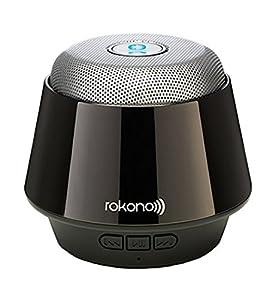 Rokono B10 Bass und Mini Bluetooth Lautsprecher Titanium Schwarz