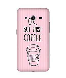 First Coffee Samsung Galaxy Core 2 Case
