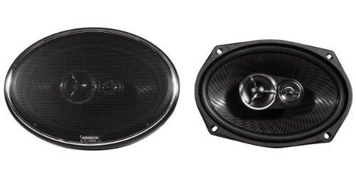"""Brand New Kenwood Excelon Kfc-X693 6"""" X 9"""" 3 Way Pair Of Car Speakers Totalling 600 Watts Peak / 260 Watts Rms"""