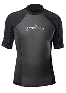 Buy Hyperflex Wetsuits Mens Polyolefin 1.5mm 50 50 S S Shirt by Hyperflex