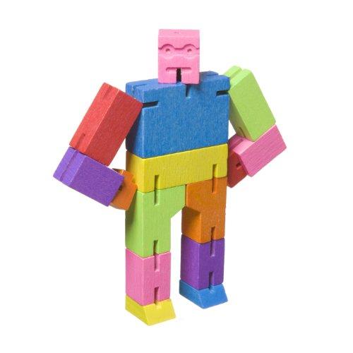 Micro Cubebot Brain Teaser Puzzle, Multi-Color