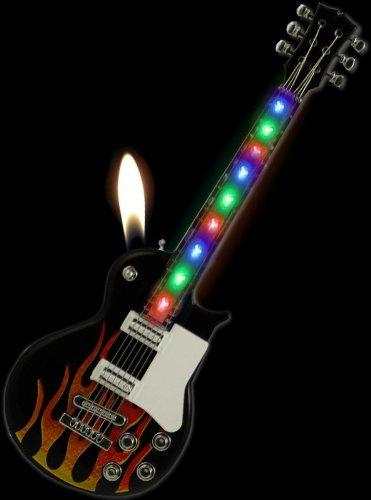 Les Paul Rock-N-Roll Light Show Guitar Lighter (Assorted)