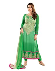 DivyaEmporio Women's Resham Salwar Suit Dupatta Unstitched Dress Material (Free Size) - B00V0IAP1K