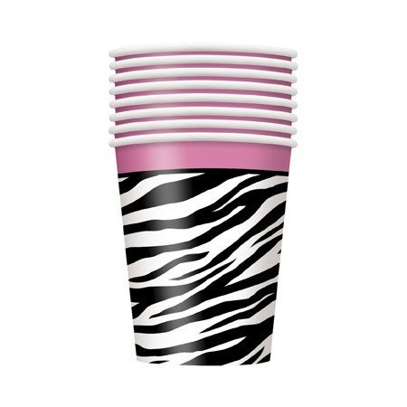 Zebra 9 Oz Paper Cup - Pack of 8