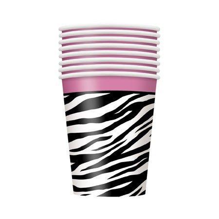 Zebra 9 Oz Paper Cup - Pack of 8