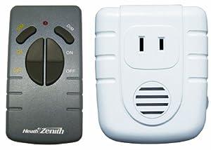 Heath Zenith SL-6008-WH-A Wireless Command Remote Control Lamp Set