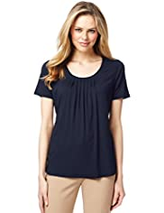 7 Pleat Top with Stay New™