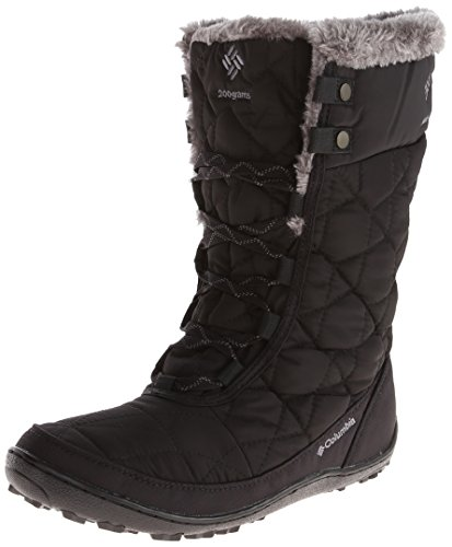 Columbia Women's Minx Mid II Omni-Heat Winter Boot,Black/Charcoal,8 M US (Columbia Shoes Women Winter compare prices)