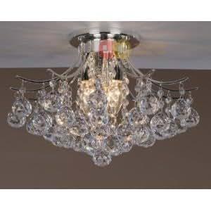 Crystal Ceiling Lights Living Room Bedroom Pendant Lights