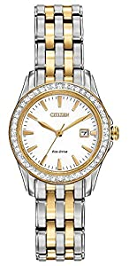 Citizen Eco-Drive LadiesÕ Crystal Watch w/ Date, EW1908-59A
