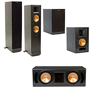 klipsch rf 62 ii home theater system free sub. Black Bedroom Furniture Sets. Home Design Ideas