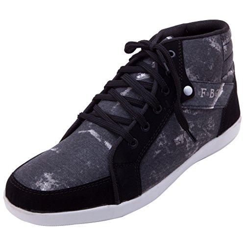 FBT Men's 10390 Black Casual Shoes