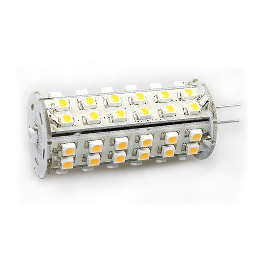 G4 Base Navigation Light With Photo Sensor 60 Led Smd3825 3 Watt 280 Lumen By Ledwholesalers Bright Wihte, 1474Dwh