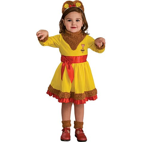 Wizard of Oz Lion Costume Toddler Girl - Toddler