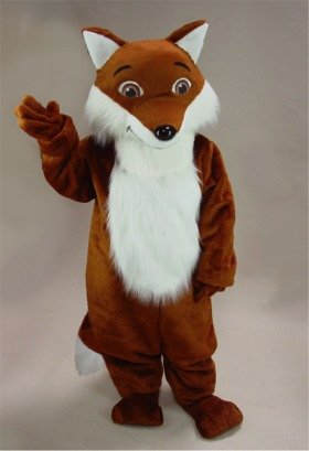 Reddy Fox Mascot Costume