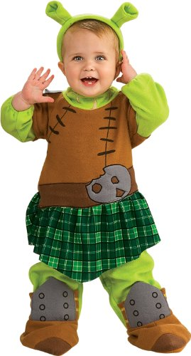 [Princess Fiona Warrior Costume - Toddler] (Warrior Fiona Costumes)