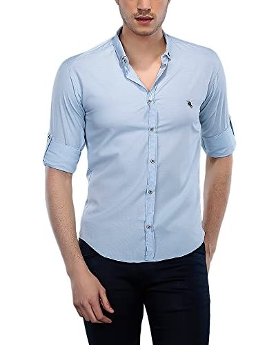 Philip Loren Camicia Uomo [Blu]
