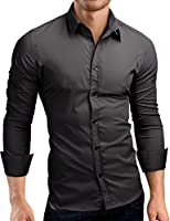 Grin&Bear coupe slim chemise homme, SH500