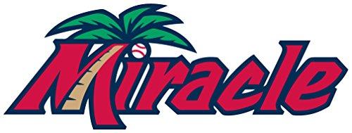 fort-myers-miracle-set-of-2-milb-minor-baseball-sport-art-vinyl-sticker-aufkleber-home-decor-35-x-12