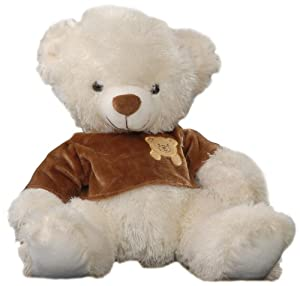Play n Pets PNP-3133 Bear with T-shirt 38cm (Medium)