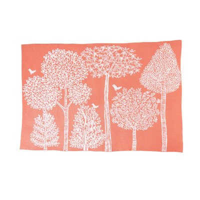 DwellStudio Knit Blanket, Treetops - 1
