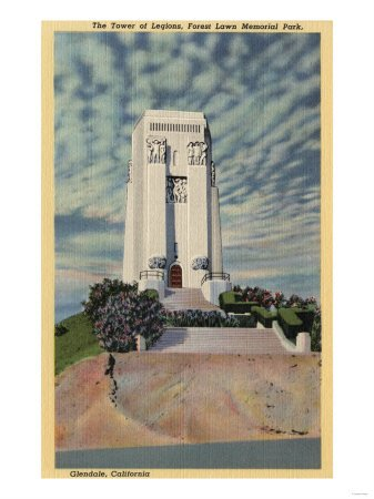 Glendale, California - Tower of Legions, Forest Lawn Memorial Park