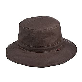 Woolrich WAX Cotton Bucket Hat at Amazon Men's Clothing store: