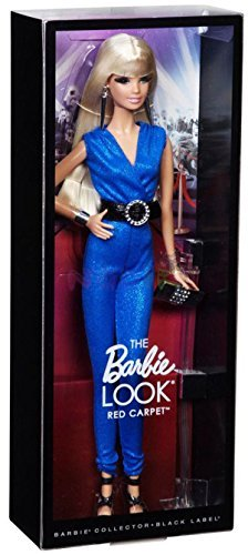 Barbie The Look: Blue Jumpsuit Barbie Doll by Mattel TOY (English Manual)