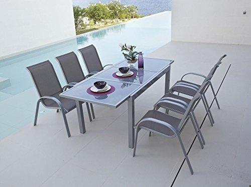 baumarkt direkt Stapelstuhl »Amalfi (2 Stück)« 2 Stühle, taupe online kaufen