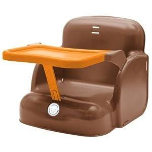 Baby sun nursery rehausseur monoblock 4 en 1 chocolat - Rehausseur de chaise babysun nursery ...