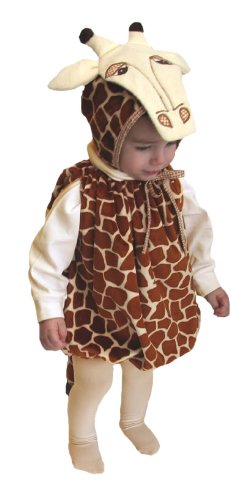 Mullins Square Giraffe Baby Costume, Tan Spots - 6-18 Months