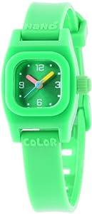 Baby Watch Mädchen-Armbanduhr Analog Plastik grün Nano color vert