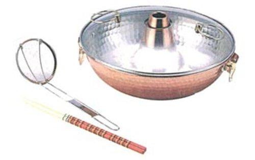 アオヤギコーポレーション ファミリーしゃぶ鍋26㎝純銅 日本製