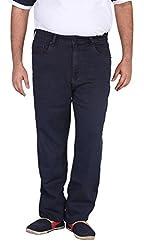 Xmex Men's Soft Denim Jeans (Kr-5032Grey-50, Grey, 50)