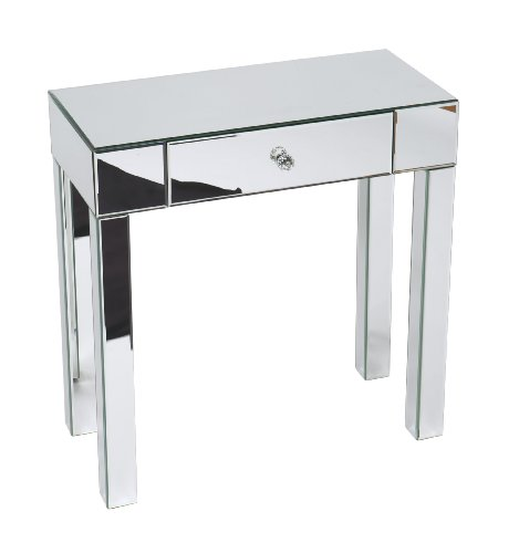 Silver Mirrored Furniture front-1080951