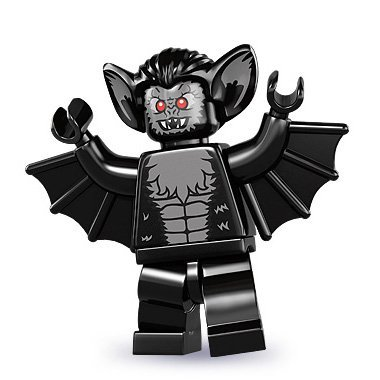 LEGO Minifigures Serie 8 - VAMPIRE BAT (Factory Sealed Pack)