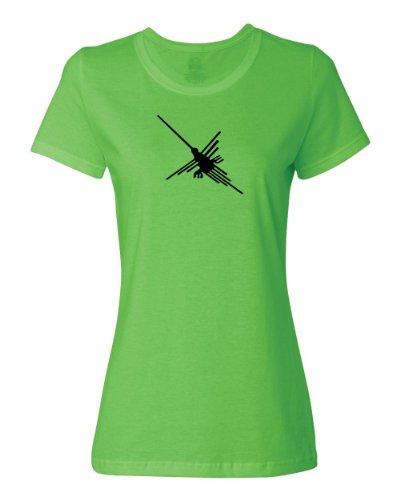 ShirtLoco-Womens-Nazca-Lines-Hummingbird-Peruvian-Glyph-T-Shirt