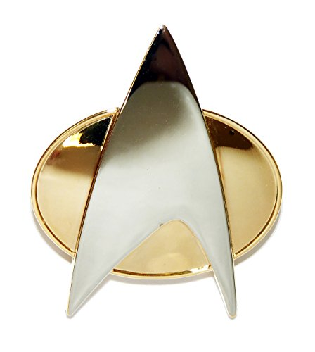 Star Trek the Next Generation Metal Communicator Pin