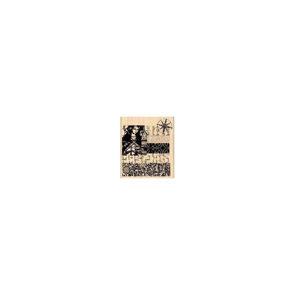 Penny Black Rubber Stamp 3.5X4 Eternal