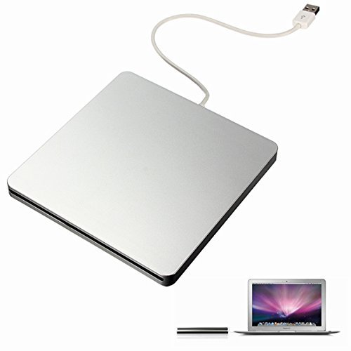 BESTRUNNER USB External CD DVD Rom RW Player Burner Drive for MacBook Air Pro iMac Mac Win8 (Dvd Drive For Macbook Air compare prices)