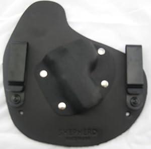 Conceal Mini- Left Handed, Black, Sig P938 w/Sig Laser- Shepherd Leather IWB Holster