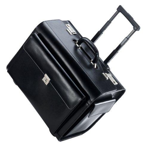 Pilotenkoffer aus Leder von Dermata