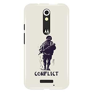 a AND b Designer Printed Mobile Back Cover / Back Case For Motorola Moto (3rd Gen) (Moto_X3_3D_1742)