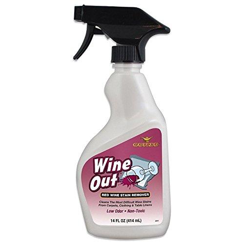 gonzo wine out red wine stain remover 14 fl oz spray food beverages tobacco beverages. Black Bedroom Furniture Sets. Home Design Ideas