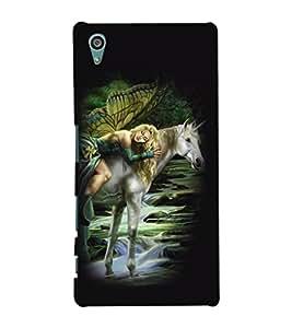 printtech Unicorn Angel Back Case Cover for Sony Xperia Z5::Sony Xperia Z5 Dual