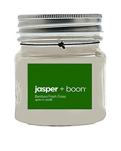 Bluewick Candles 8-Oz. Bamboo & Fresh Grass Jasper + Boon Mini Mason Candle