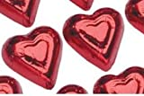 Mini Red Hearts Milk Chocolate (1 Lb - 60 Pcs)