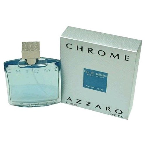 Men'S Chrome By Azzaro Eau De Toilette Spray - 3.4 Oz.