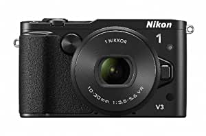 Nikon ミラーレス一眼Nikon 1 V3 標準パワーズームレンズキット ブラック N1V3HPLKBK